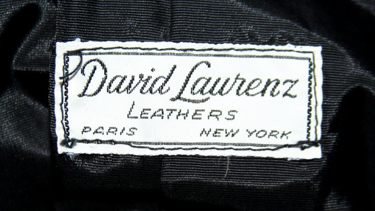Prototype 'Bad' Jacket Label