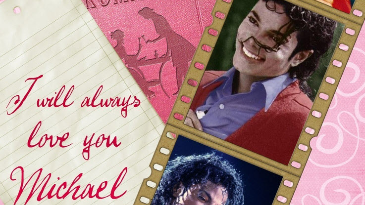 Show some love with Michael Jackson Valentine Day cards