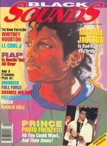 Michael Jackson Black Sounds Magazine