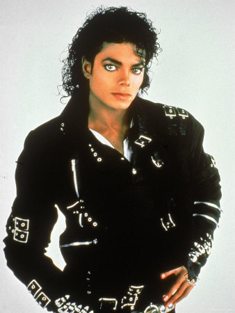 Michael Jackson Bad Album Poster