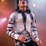 Michael Jackson Pop Entertainer Poster