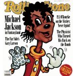 Michael Jackson Rolling Stone Poster