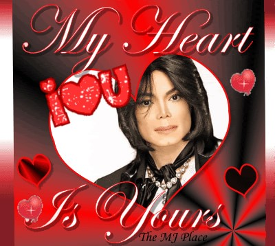 My heart is yours Michael Jackson
