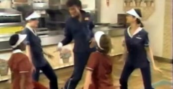 "<span class=""entry-title-primary"">McDonald's Training Video Featuring Michael Jackson's Hit Song 'Beat It'</span> <span class=""entry-subtitle"">A training video for McDonald's showing the ways to keep the restaurant clean with a little Michael Jackson to help you out called 'Clean It'</span>"