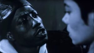 Wesley Snipes in short film for Michael Jackson's Bad Album